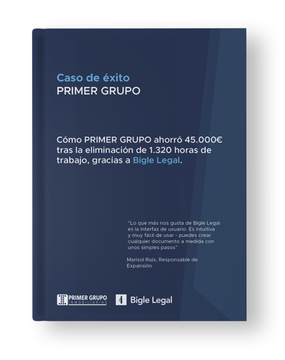 Case Study Primer Grupo Spanish cover - Bigle Legal